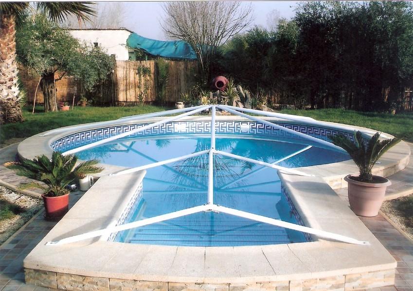 Toldos y lonas villanueva sistema patentado toldos y for Cubiertas de lona para piscinas